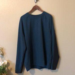 Men's Reversible Long Sleeve Sweatshirt Size S